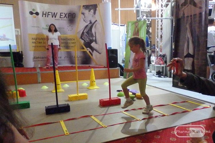 Дел од презентациите и за најмалите на HFW саемот во Скопје