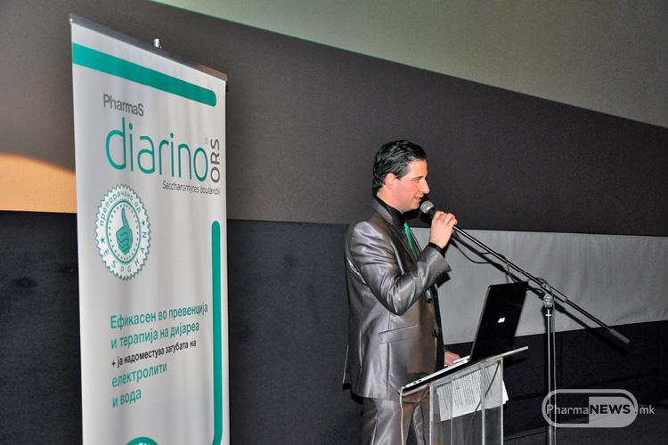 Промоција на новите производи Лаксамол и Диарино ОРС