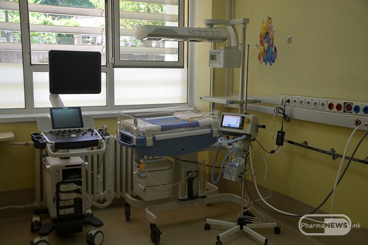 Донираниот Medin-cno апарат во клиника за детски болести