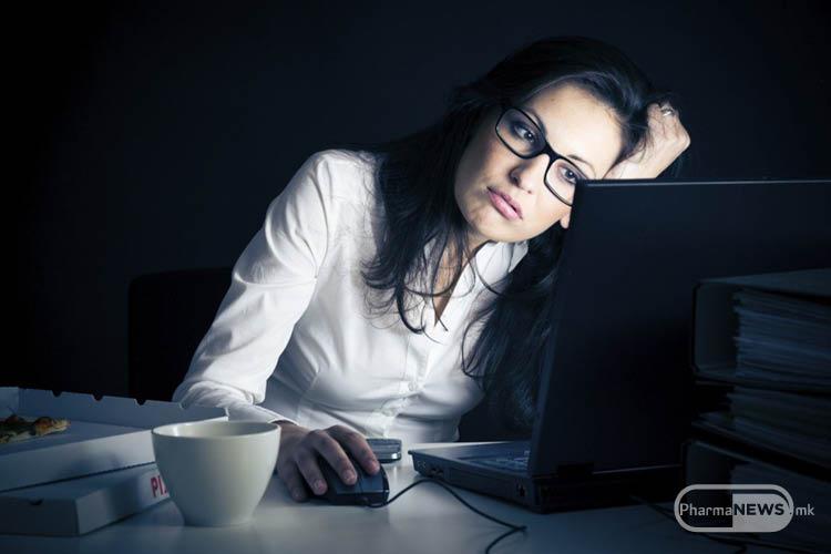 Спиењето и ноќната смена